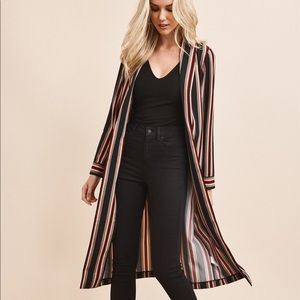 Dynamite Belted long Jacket